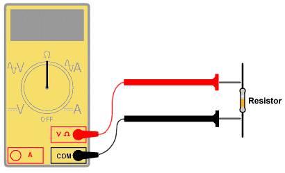 cara membaca resistor dengan multimeter