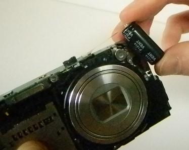 kapasitor pada kamera digital