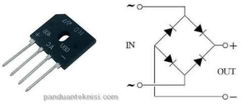 gambar dioda bridge
