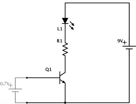 Pemasangan transistor pada rangkaian
