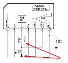 rangkaian vertikal pump up