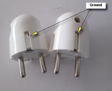 grounding pada steker listrik