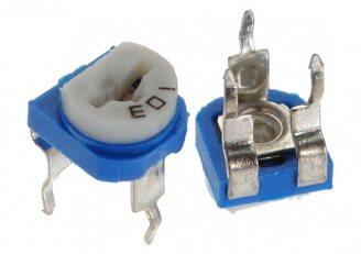 bentuk resistor trimmer