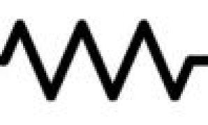 simbol komponen resistor IEEE