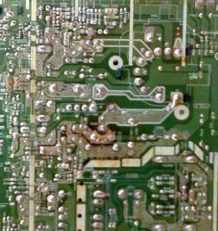 solder ulang mesin TV sharp