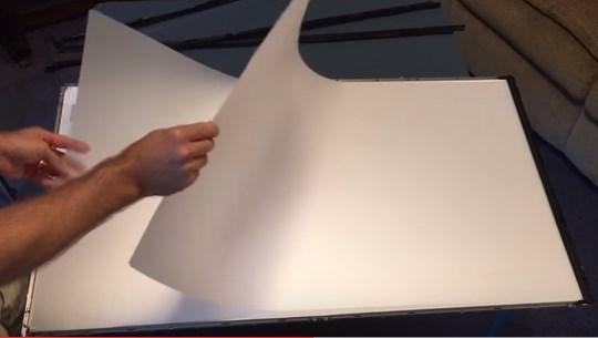 lapisan filter led TV