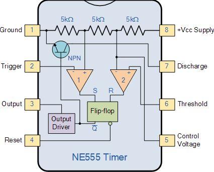 konfigurasi IC 555 2