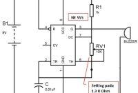 Rangkaian Pengusir Nyamuk Elektronik