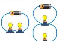 contoh rangkaian seri dan paralel