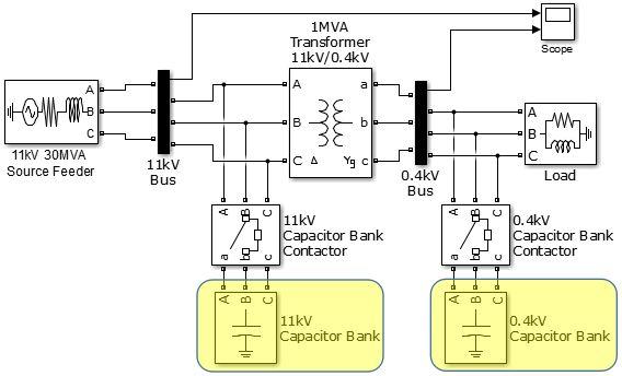 rangkaian kapasitor bank