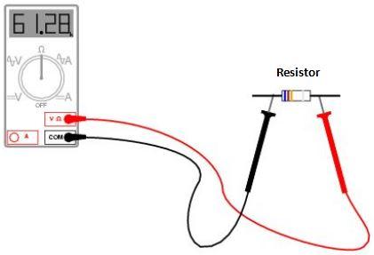 cara mengukur resistansi dengan multimeter