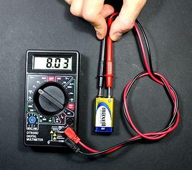 cara mengukur tegangan dengan avometer