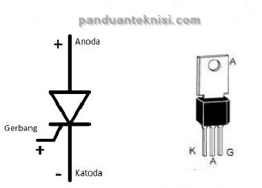 gambar dioda scr