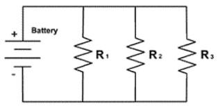 ciri rangkaian paralel