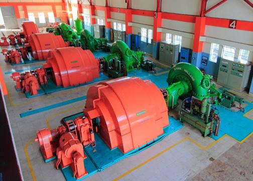 generator listrik PLTA