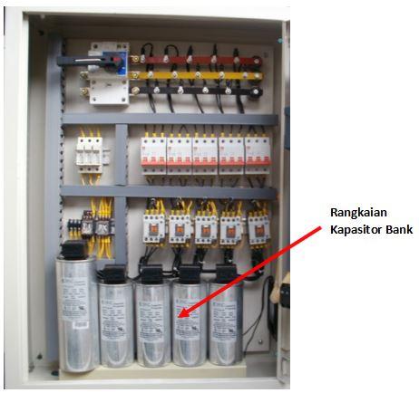 kapasitor bank pada panel listrik