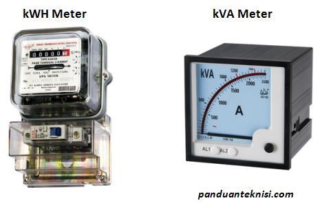 perbedaan kwh meter dan kva meter