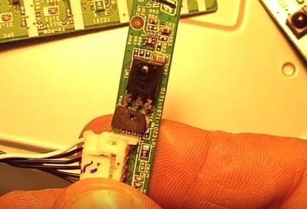sensor remote tv
