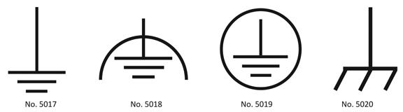 simbol grounding listrik