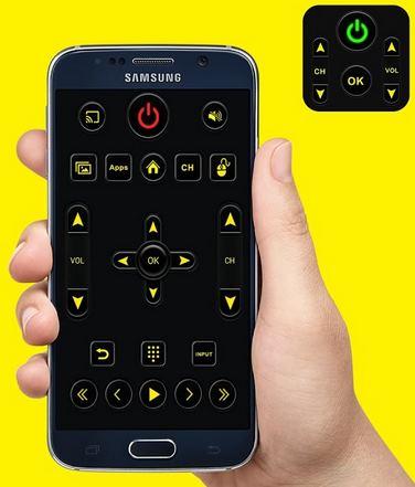 HP android sebagai remote tv samsung