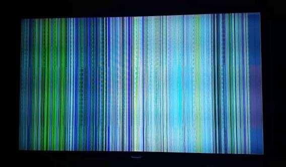 Kerusakan TV LED Bergaris Vertikal