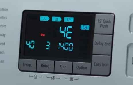 Mesin cuci Samsung error 4C