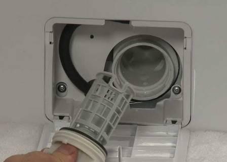 Mesin cuci Samsung error 5C