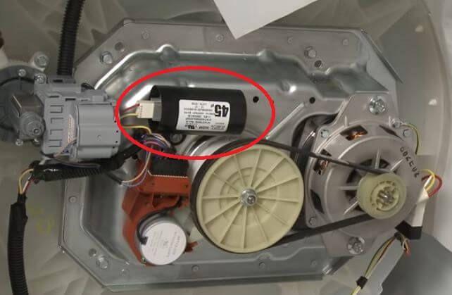 Kapasitor mesin cuci 1 tabung