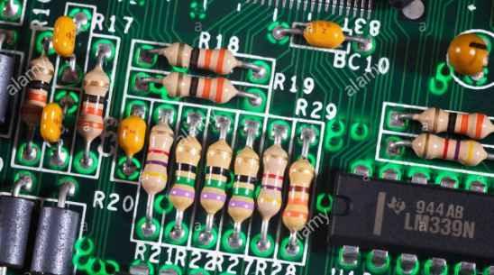 Komponen Resistor Pada PCB