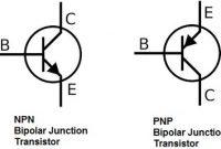 simbol transistor BJT