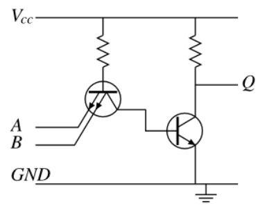 Transistor pada rangkaian TTL