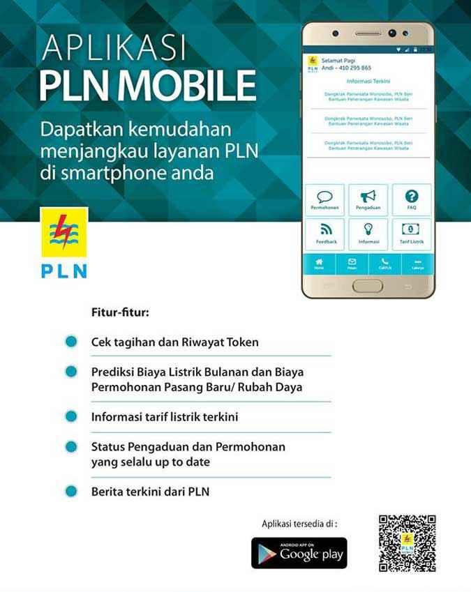 Cek ID Pelanggan PLN Aplikasi PLN-mobile
