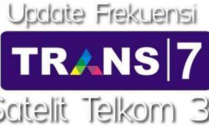 Frekuensi Trans7 terbaru