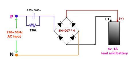 Fungsi Kapasitor sebagai Power Supply