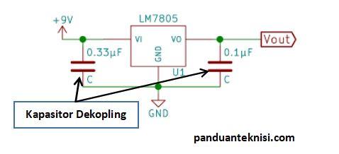 fungsi kapasitor sebagai dekopling