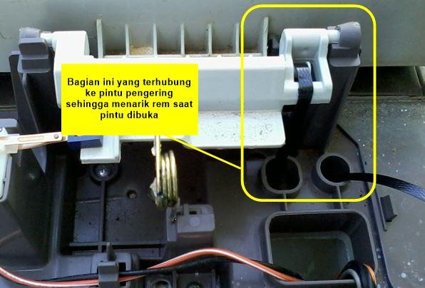 memperbaiki pengering mesin cuci