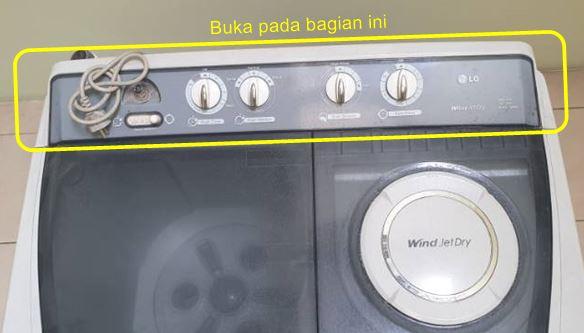cara memperbaiki mesin cuci sendiri