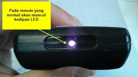 cara test remote dengan kamera hp