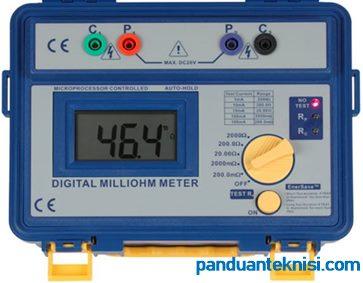 gambar ohmmeter digital