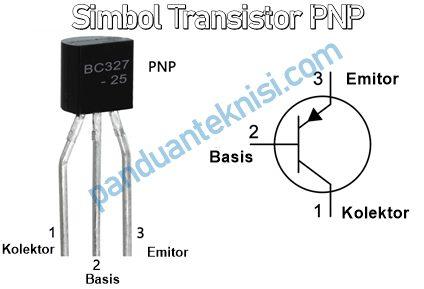 simbol transistor pnp dan bentuknya