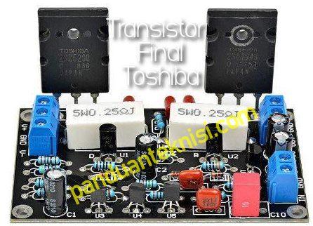transistor final toshiba
