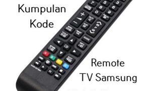 Kode Remote TV Samsung