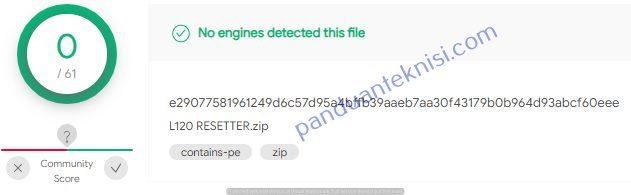 scan virus online aplikasi reset printer