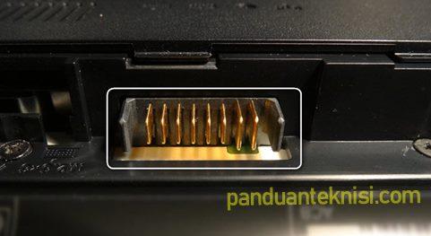 baterai laptop charging tapi tidak mengisi