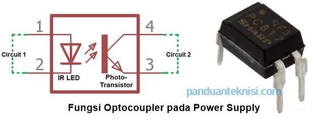 Fungsi Optocoupler pada Power Supply
