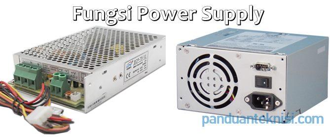 fungsi power supply