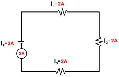 hambatan listrik rangkaian seri