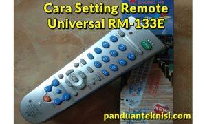 remote tv universal rm 133e