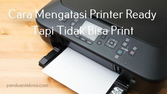 Cara Mengatasi Printer Ready Tapi Tidak Bisa Print