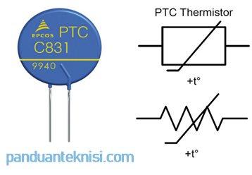 Gambar PTC thermistor Symbol